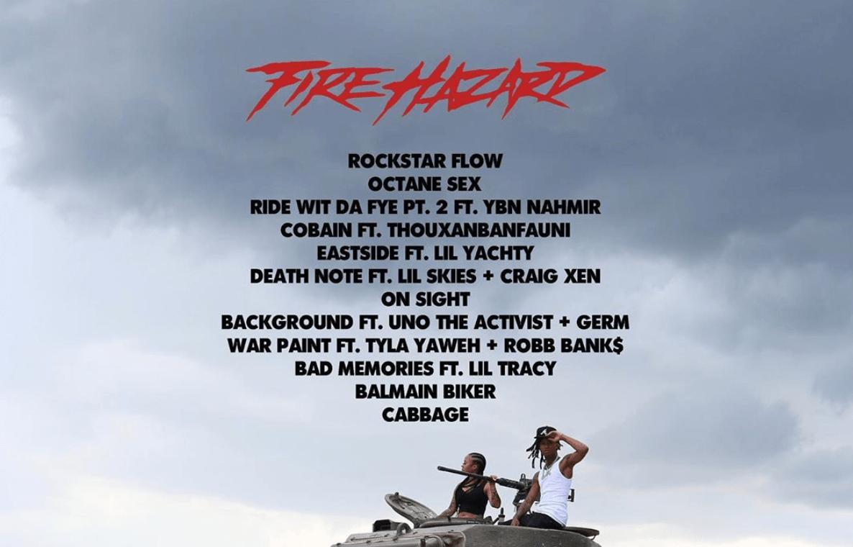 Lil Gnar Fire Hazard Tracklist